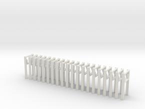 Haken-AB-Dekon 20x in White Natural Versatile Plastic
