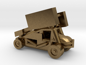 Stainless Sprint Car in Natural Bronze