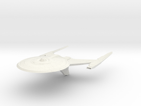 Alt Federation Ackerman Class  Cruiser in White Natural Versatile Plastic
