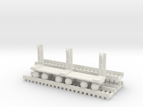Log Mover - HO 87:1 Scale in White Natural Versatile Plastic