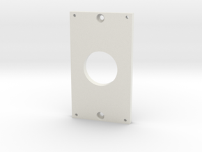 Ring doorbell adapter in White Natural Versatile Plastic