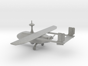 Pegasus II - UAV (bigger version) in Metallic Plastic