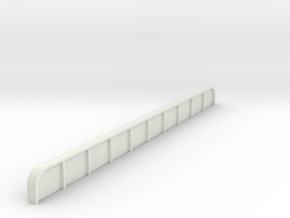 north philly  platform girder HO in White Natural Versatile Plastic