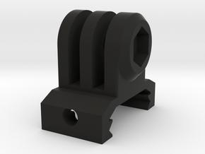 GoPro Picatinny Mount (Side Tilting) in Black Premium Versatile Plastic