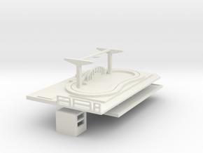 Kinderrennbahn ohne Besatzung - 1:87 (H0 scale) in White Natural Versatile Plastic