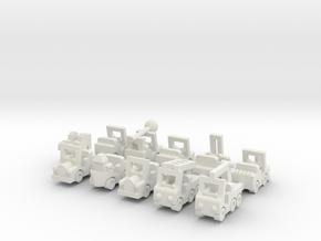 "Besatzungsset ""Upscale"" - 1:87 (H0 scale) in White Natural Versatile Plastic"