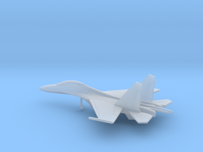 Sukhoi Su-30 Flanker-C in Smooth Fine Detail Plastic: 6mm
