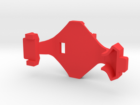 IMPRIMO - Full Version (Printable Canopy Type B) in Red Processed Versatile Plastic