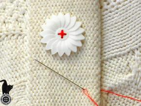 Flower Medium in White Strong & Flexible