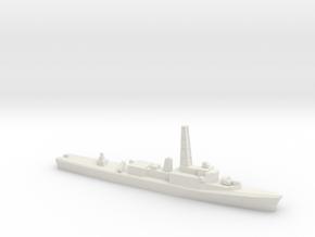 Restigouche-class DDE (Gulf War Refit), 1/1250 in White Natural Versatile Plastic