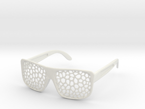 FABSHADES - Voronoi edition in White Premium Strong & Flexible