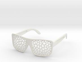 FABSHADES - Voronoi edition in White Premium Versatile Plastic