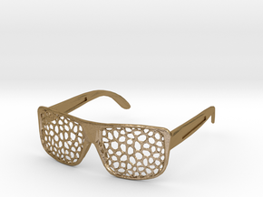 FABSHADES - Voronoi edition in Polished Gold Steel