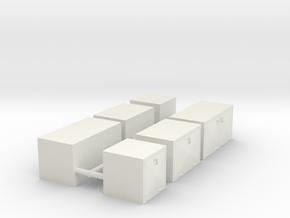 1/50th Underbody diamond face toolbox set in White Natural Versatile Plastic