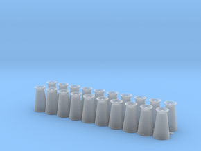 17 Gallon (65 L) Conical Milk Churn Variant 1 in Smooth Fine Detail Plastic: 1:48 - O
