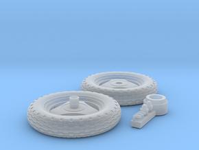 HONDA MOTOCOMPO wheel set 1/12 in Smoothest Fine Detail Plastic: 1:12