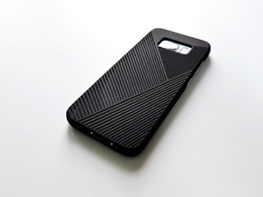 Samsung Galaxy S8 case_Geometric in Black Strong & Flexible