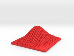 Multivariate Normal Distribution Memo Stand in Red Processed Versatile Plastic