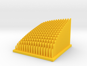 Cobb-Douglas Function (DRS) Memo Stand in Yellow Processed Versatile Plastic
