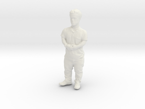 Printle C Homme 224 - 1/32 - wob in White Natural Versatile Plastic