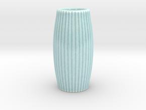 Simple Vase in Gloss Celadon Green Porcelain