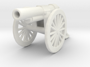 bl 6 inch 30 cwt howitzer 1/100 ww1 artillery  in White Natural Versatile Plastic
