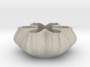 Fractal Bowl 2108 in Natural Sandstone