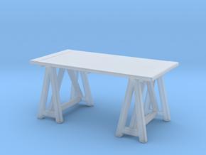Miniature Preston Desk - Gramercy Home in Smooth Fine Detail Plastic: 1:24