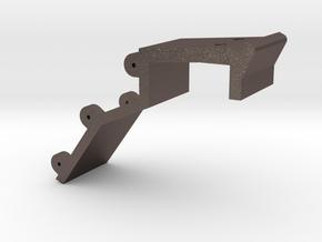 Ashpan bracket in Polished Bronzed Silver Steel