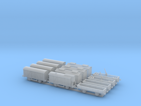 Railroad_wagons_1:285 in Smoothest Fine Detail Plastic
