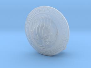 Shield02-Buckler-Lion 6-7inch MOTU in Smooth Fine Detail Plastic