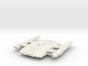 Federation Hawk Class  Scout in White Natural Versatile Plastic