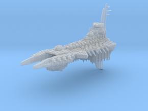 Avenging Spirit Battleship in Smooth Fine Detail Plastic
