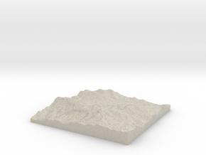 Model of Bridge Spring in Natural Sandstone