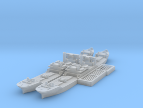 EFC 1013 WW1 freighter Various Scales in Smooth Fine Detail Plastic: 1:2400