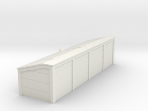 HO Scale Tool Chest in White Natural Versatile Plastic