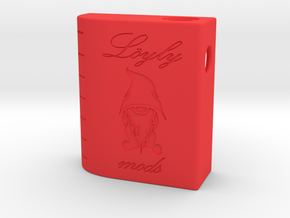 Löyly Parallel Squonker in Red Processed Versatile Plastic