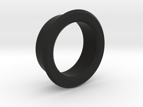 Bezel for potentiometer in Black Natural Versatile Plastic