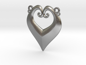 Heart-y in Natural Silver