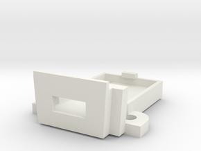 Model M Controller Mount in White Natural Versatile Plastic