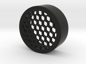 Honeycomb onepiece 47mm in Black Natural Versatile Plastic