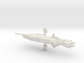 EA Warlock Destroyer Low poly Armada Scale in White Natural Versatile Plastic