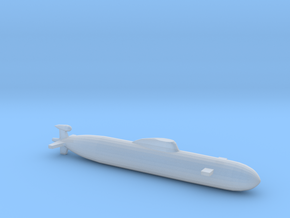 Akula SSN, Full Hull, 1/2400 in Smooth Fine Detail Plastic