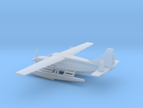 1/285 Scale Cessna 208 Float Plane in Smooth Fine Detail Plastic