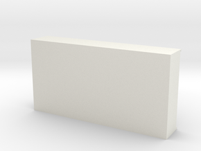 USB storage tray  in White Natural Versatile Plastic