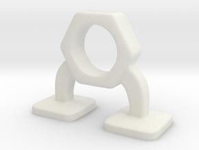 nut_boy / 01 in White Natural Versatile Plastic