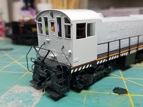 Alco NH low profile cab kit Atlas S2 in Smoothest Fine Detail Plastic