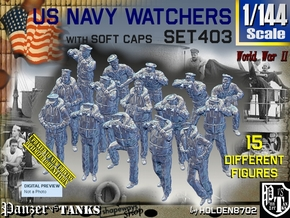 1/144 USN Watchers Set403 in Smooth Fine Detail Plastic