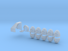 Toothed Mouth Start Collection Bundle  in Smooth Fine Detail Plastic