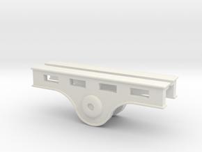 A0 - Reversing Shaft Bracket - G2 in White Natural Versatile Plastic
